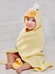 hooded towel - duck