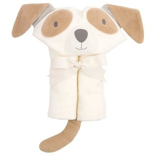 hooded towel - puppy